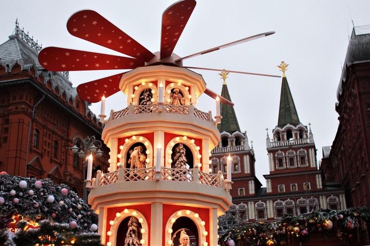Новогоднее настроение в Москве / Фото: Наталия Нечаева, «Вечерняя Москва»