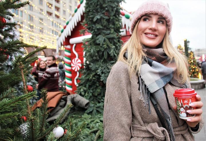 Фестиваль «Путешествие в Рождество». На фото Ольга Кабак / Фото: Наталия Нечаева, «Вечерняя Москва»