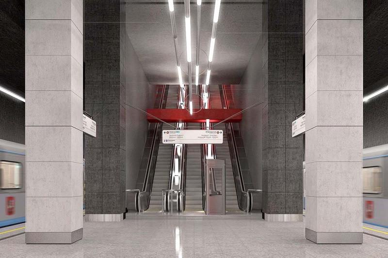 Станции «Мневники» и «Карамышевская» БКЛ метро готовы на 98 процентов