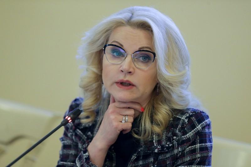 Голикова поздравила с Днем знаний учеников школы при Центре имени Рогачева
