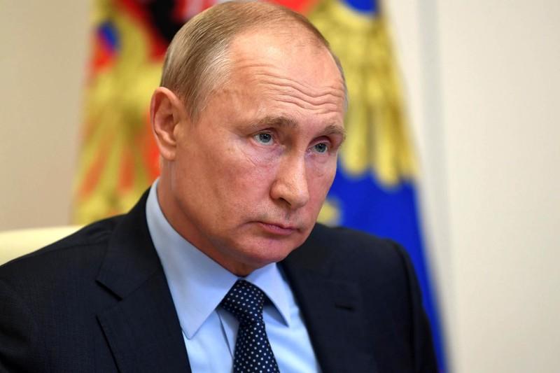 Владимир Путин принял участие в открытии транспортной развязки в Химках