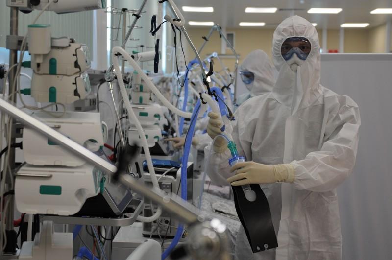 Более 1,5 тысячи человек с коронавирусом госпитализировали в Москве за сутки