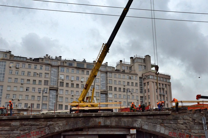 Петр Бирюков: Капремонт Большого Каменного моста завершат досрочно
