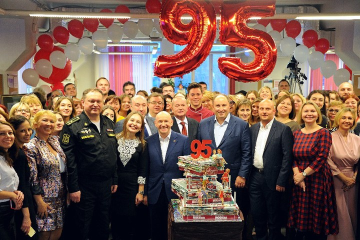 Подарок «Вечерней Москвы» ко Дню города