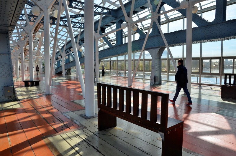 Пешеходный мост через реку Сетунь появится около станции МЦД-4 Поклонная