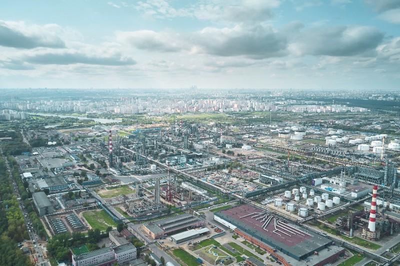 Московский НПЗ становится одним из лучших в Европе по экологическим характеристикам