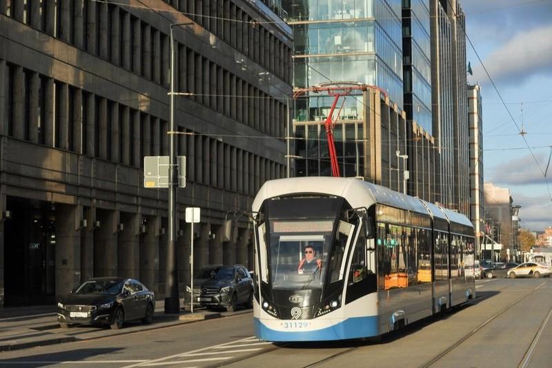 Сергей Собянин рассказал об истории трамвайного движения в Москве