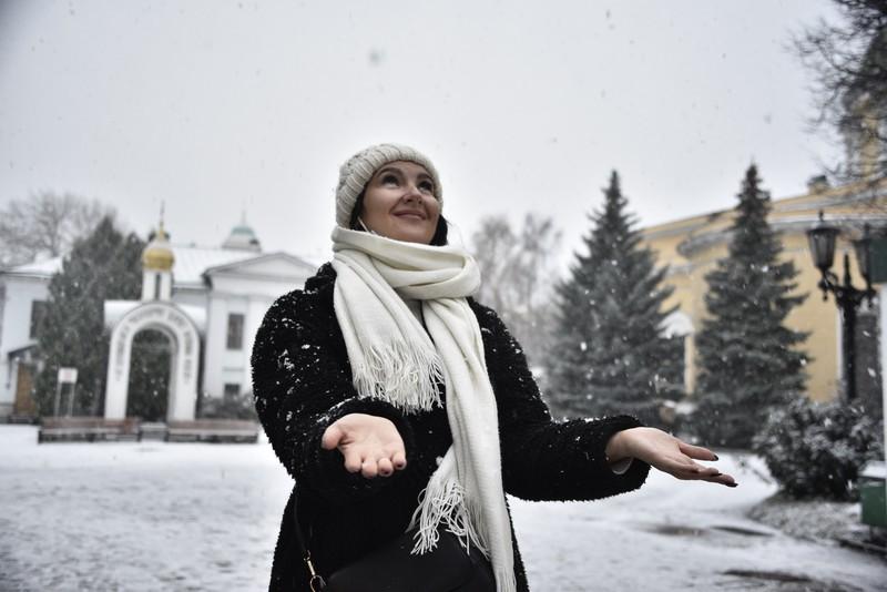 Москвичам пообещали несколько мощных снегопадов в канун Нового года