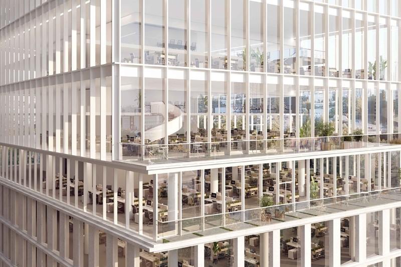 Офисный центр с открытыми террасами появится на улице Обручева