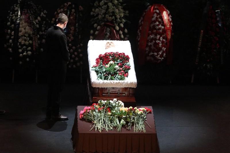 Церемония прощания с Валентином Гафтом завершилась в Москве