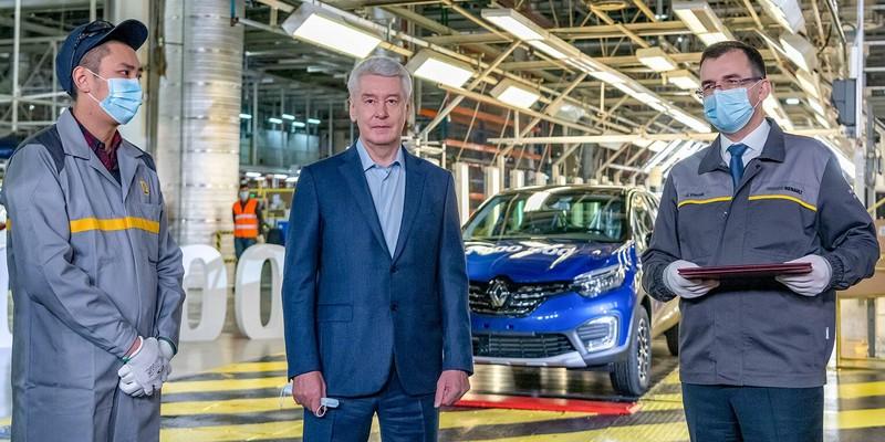 Сергей Собянин поздравил московский завод «Renault Россия» с 15-летием