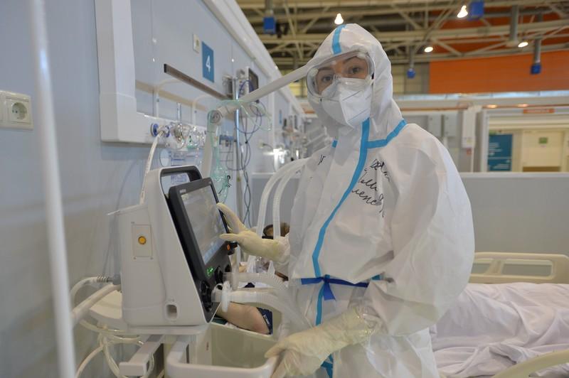 Более 40 человек с COVID-19 поступило во Вторую инфекционную больницу за сутки