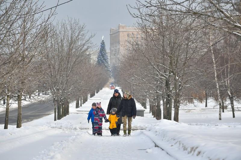 Морозы сохранятся на улицах столицы до конца января