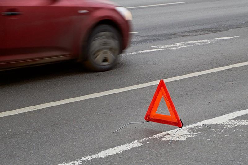 Появилось видео задержания водителя, который сбил пешеходов на Волгоградском проспекте