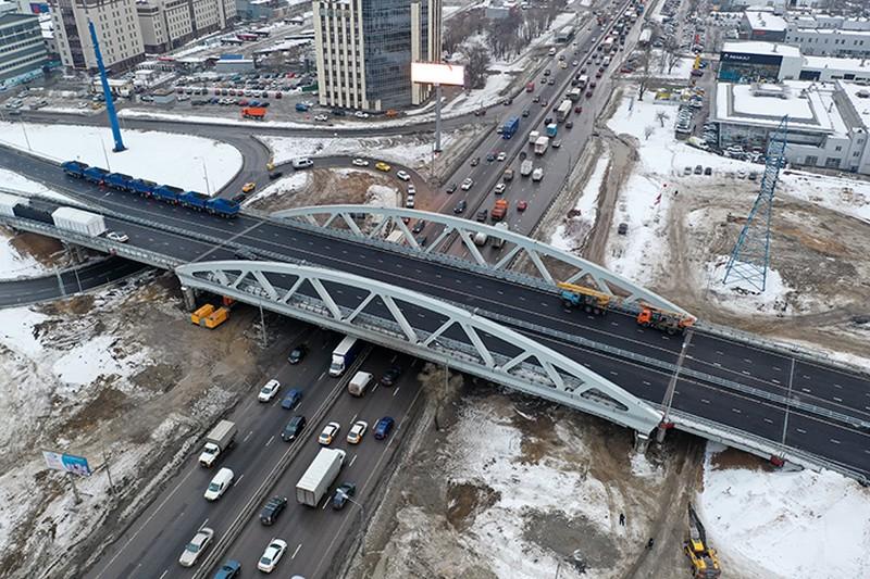 «Удобнее, лучше, короче»: Путин открыл транспортную развязку в Химках