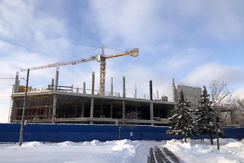 Административное здание построят в Шмитовском проезде в Москве