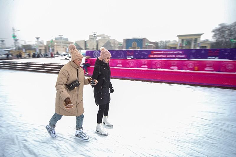 Катки в парках Москвы будут работать до 8 марта включительно