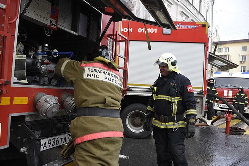Отряд из 650 единиц техники для предотвращения пожаров создали в Москве