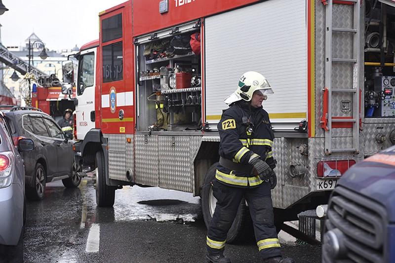 Роста уровня загрязнения воздуха в Москве не зафиксировано после пожара в Люберцах
