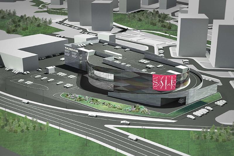Торговый центр с паркингом на крыше построят в Коммунарке