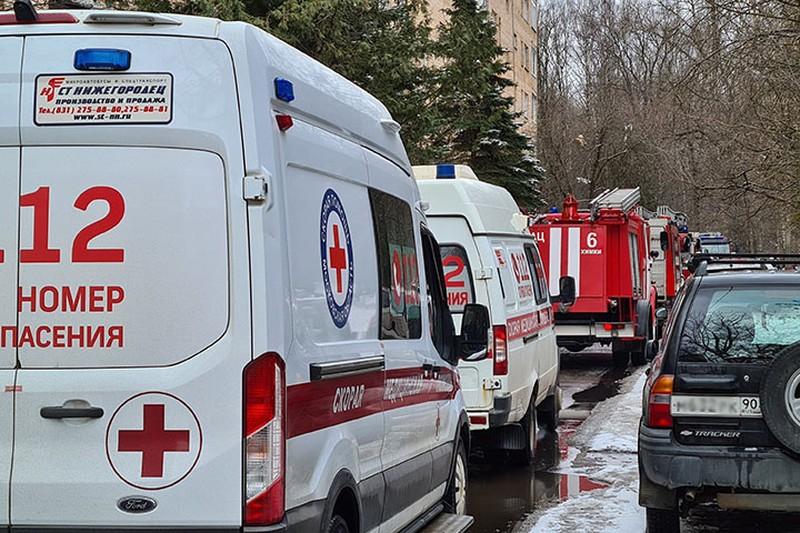 Пострадавшие при пожаре в столичном отеле приехали в Москву на слет кадет