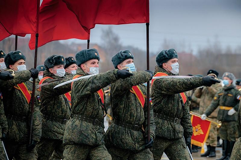 Вторая репетиция парада Победы состоялась в Подмосковье