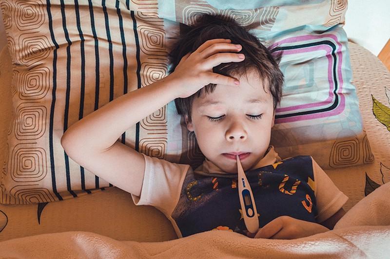 Заболевших гриппом детей в Москве стало меньше в сравнении с прошлой неделей