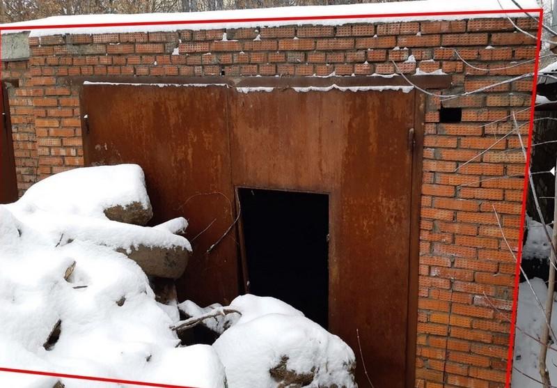 Заброшенный гараж снесли на северо-востоке Москвы