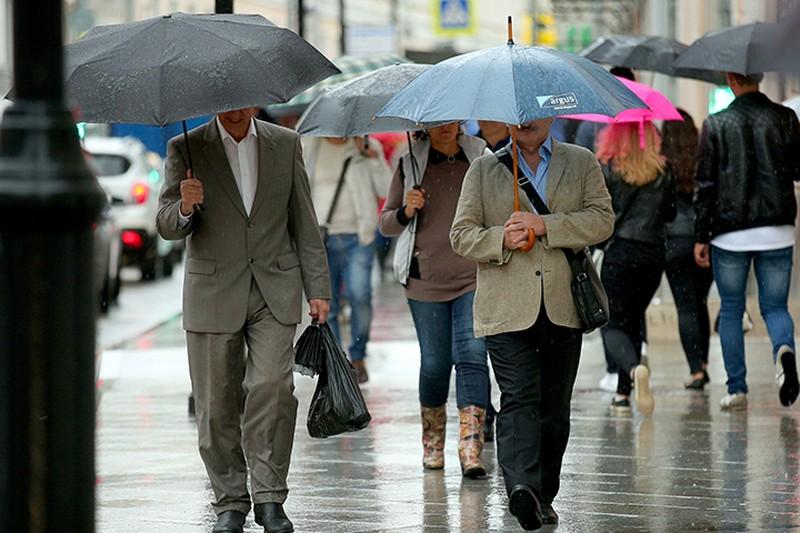 Дождь в Москве 8 мая может войти в пятерку самых сильных за последние 70 лет
