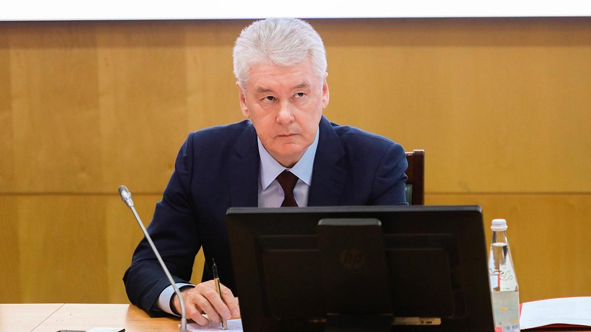 Сергей Собянин назвал штамм «дельта» причиной всплеска заболеваемости COVID-19 летом