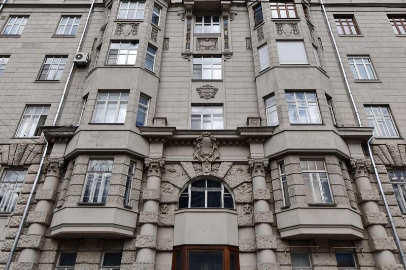 Фасад дома Кальмеера в Москве капитально отремонтируют