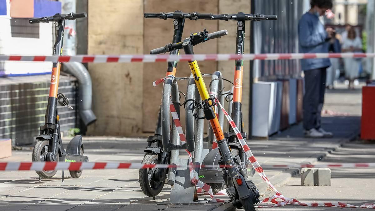 Пьяный грабитель-рецидивист украл электросамокат в Кузьминках