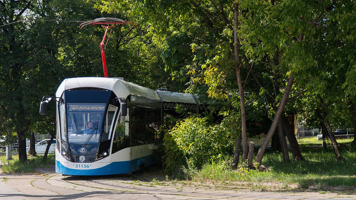 Движение трамваев на Строгинском шоссе восстановлено