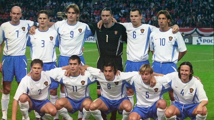 2004 год. Матч отборочного турнира/ Фото: РИА Новости
