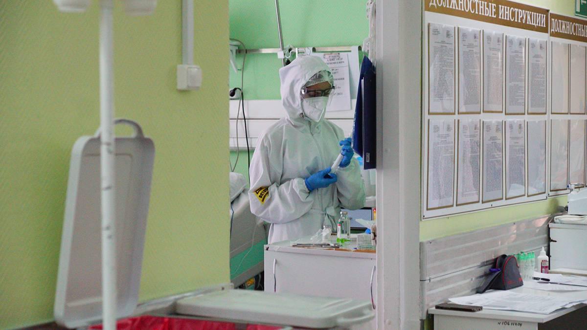 В России за сутки выявлен 18 841 новый случай коронавирусной инфекции