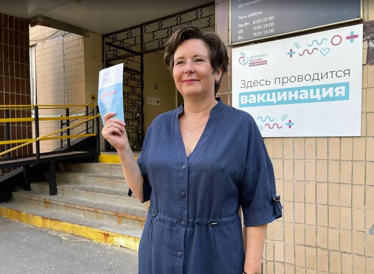 На фото советник мэра Москвы по вопросам жилищно-коммунального хозяйства Светлана Разворотнева. Фото: Екатерина Бибикова