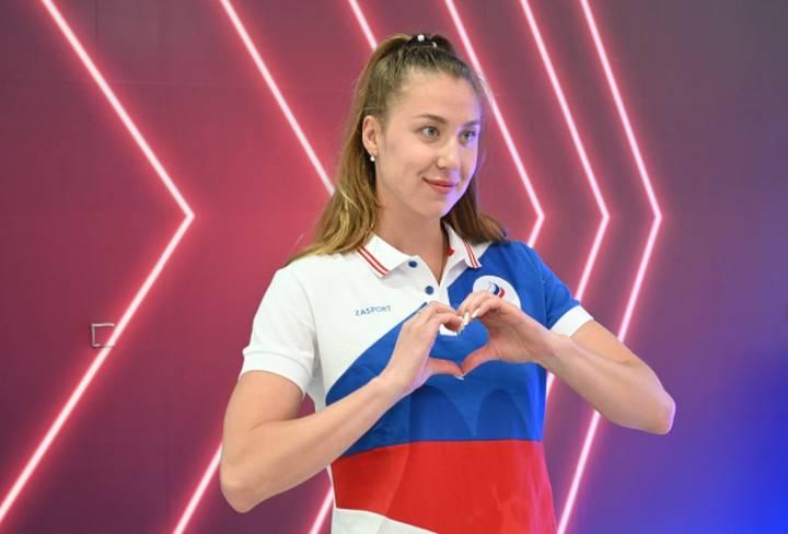 Член сборной России по плаванию Даша Устинова / Фото: РИА Новости