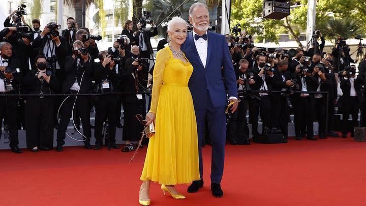 Британская актриса Хелен Миррен с супругом Тейлором Хэкфордом / Фото: EPA