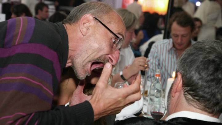 Петр Мамонов и Павел Лунгин на 31-м Московском Международном кинофестивале. 2009 год / Фото: РИА Новости
