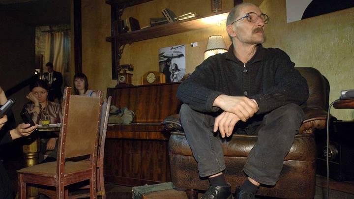 Пресс-конференция Петра Мамонова в преддверии его 55-летия, 2006 год / Фото: ITAR-TASS