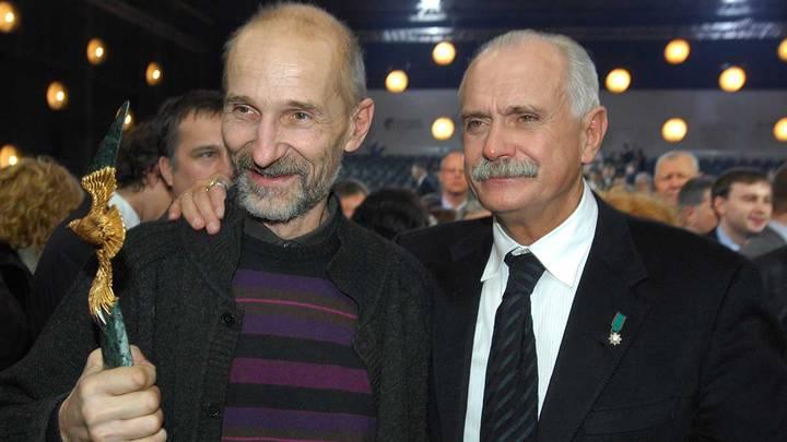 Церемония вручения премии «Золотой Орел», с Никитой Михалковым. 2007 год / Фото: ITAR-TASS