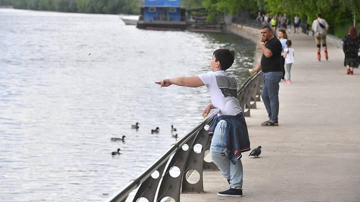 Филевская набережная / Фото: Сергей Киселев / АГН Москва