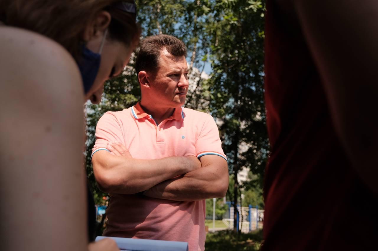 Роман Романенко назвал расходы на физкультуру и спорт социально значимыми. Фото: Иван Степанов