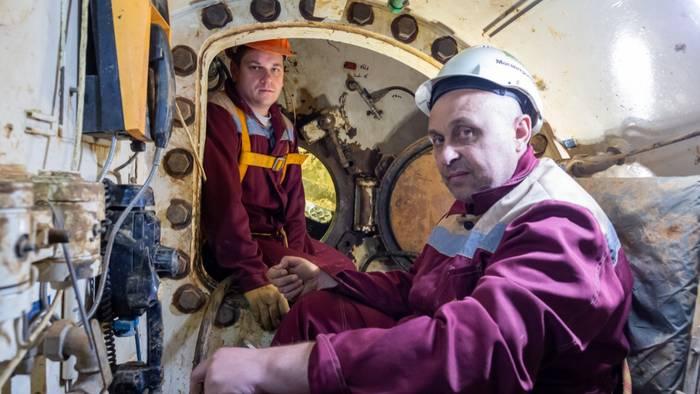 Как ремонтируют щиты для проходки тоннелей метро