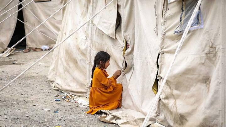 Лагерь беженцев в Кабуле, Афганистан / Фото: EPA/ТАСС