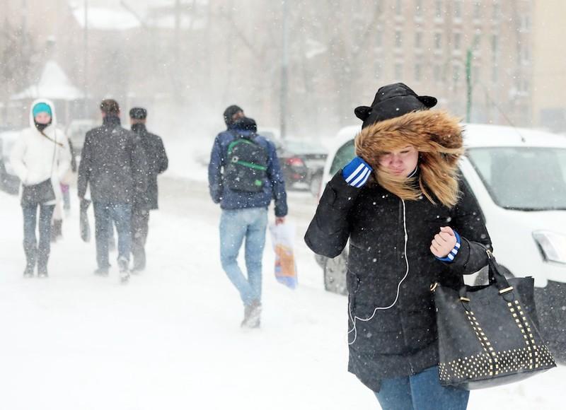 Метеоролог предупредила москвичей о метели на выходных
