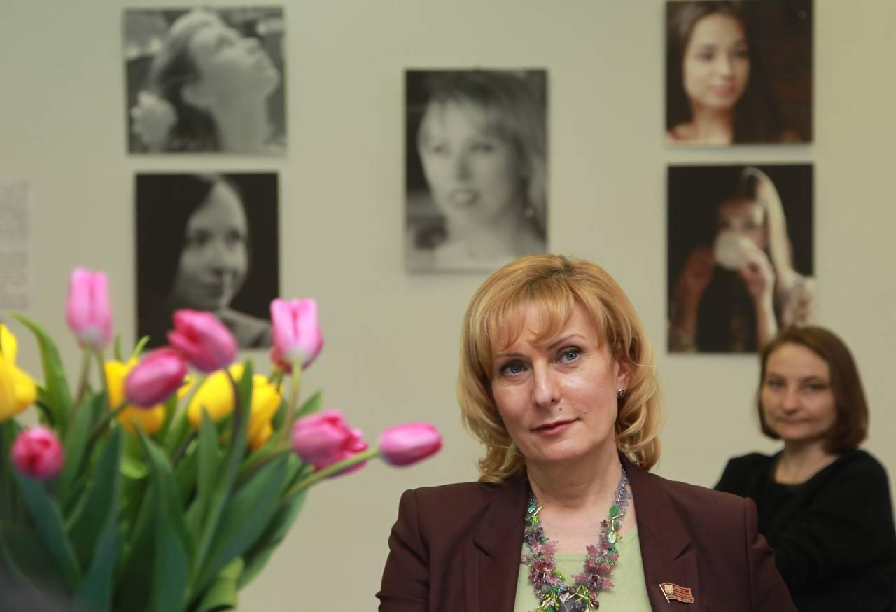 Представитель Мосгордумы в Совете Федерации Инна Святенко. Фото: Наталия Нечаева, «Вечерняя Москва» Фото: NECHAEVA