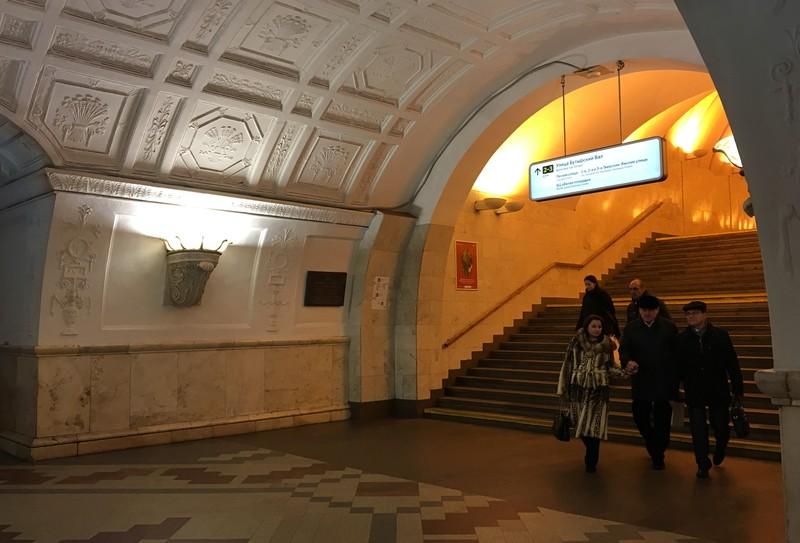 Дептранс Москвы опубликовал видео «оживших» фресок станции «Белорусская»