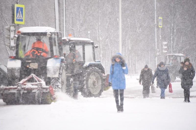 Жителей Подмосковья предупредили о мокром снеге и гололеде вечером 26 января