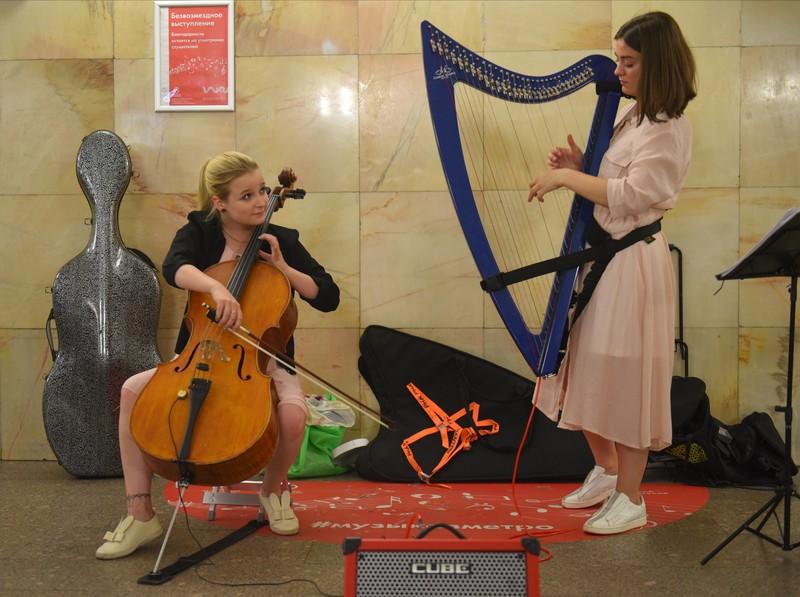 Проект «Музыка в метро» возобновили в Москве с 1 сентября
